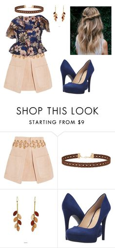 """""""Sans titre #926"""" by stalialightwood ❤ liked on Polyvore featuring Chloé, Miss Selfridge, Atelier Maï Martin and Jessica Simpson"""