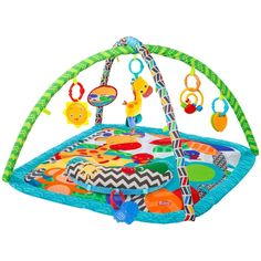 Bright Starts Silly Safari Polyester Baby Activity Gym by Bright Starts