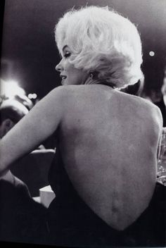 Marilyn at the Golden Globe Awards, March 5th 1962