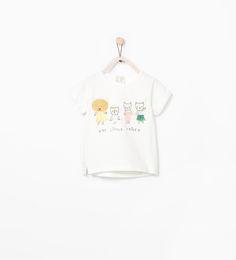 TIGER FAMILY T-SHIRT-T-shirts-Baby girl (3 months-3 years)-KIDS | ZARA Germany