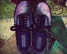 nebula galaxy shoes