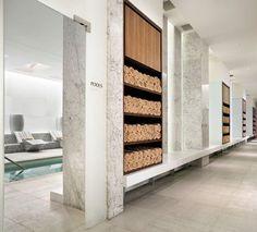 「crillon spa locker」の画像検索結果 Yoga Studio Design, Spa Design, Jacuzzi, Gym Interior, Interior Design, Hotel Swimming Pool, Gym Lockers, Gym Room, Changing Room