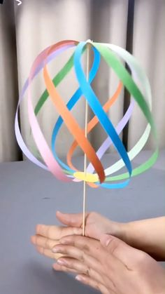 DIY Toy – Spinning Ball Greatest Origami Document Origami is one regarding the most delicate varieties of … Paper Crafts Origami, Paper Crafts For Kids, Preschool Crafts, Diy Paper, Easter Crafts, Paper Crafting, Diy For Kids, Preschool Learning, Simple Kids Crafts