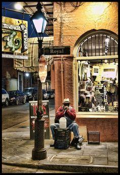 :) Saw Granda Pa Elliott this week in NOLA! On this very corner.
