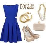 vestido azul rey - Buscar con Google