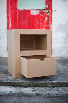 cute simple cardboard furniture
