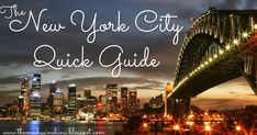 Travel Quick Guides: New York | The Mosbys in China
