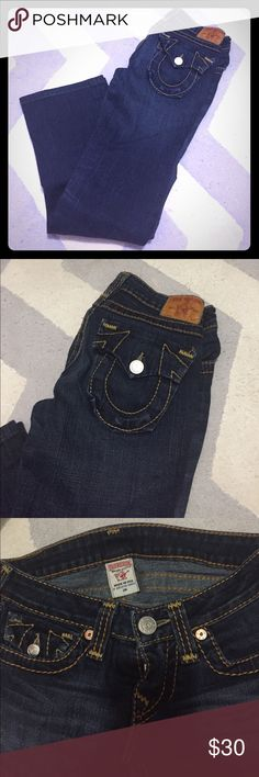 True Religion Boot cut. In good condition. Like new. Hardly worn. True Religion Jeans Boot Cut