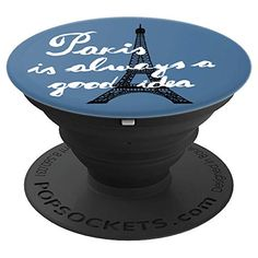 Denim Blue Eiffel Tower Paris Is Always A Good Idea - Pop socket #Paris #popsockets #cutepopsockets #Parisisalwaysagoodidea