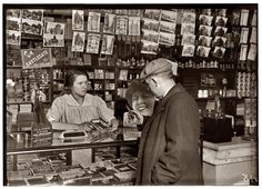 Boston, January 24, 1917. Mary Creed, 14 years old. Selling cigars in store of Mrs. Breslin, 817 Harrison Avenue. Photo by Lewis Wickes Hine.  Tumblr