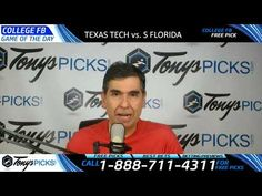 Texas Tech Red Raiders vs. South Florida Bulls Free NCAA Football Picks ...