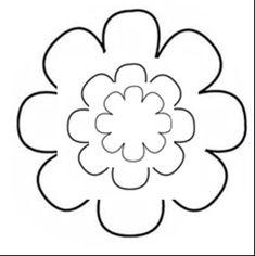 Gabarit de fleur