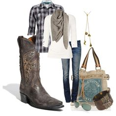 This could be my Calgary outfit... actually id wear the boots out east without hesitation too.