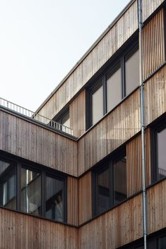 Image 22 of 34 from gallery of Flexim Headquarters / ZRS Architekten. Photograph by ZRS Architekten Pv Panels, Solar Collector, Properties Of Materials, Reinforced Concrete, How To Level Ground, The Expanse, Image 30, Construction, Exterior