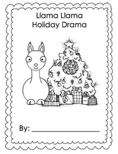 Simply Kinder: Llama Llama Holiday Class Book and/or Take Home Backpack Freebie!