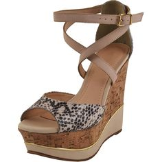 Bruno Menegatti Women's Strappy Leather Wedge Sandal * You can find more details by visiting the image link.