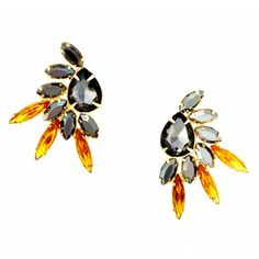 Sole Society New Arrivals - Feather Stone Earring