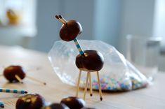Kastanjedyr // det bedste jeg ved Creative, Desserts, Kids, Crafts, Locker, Tailgate Desserts, Young Children, Deserts, Boys