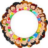 Multidão De Desenhos Animados Das Crianças Com Espaço Vazio - Baixe conteúdos de Alta Qualidade entre mais de 47 Milhões de Fotos de Stock, Imagens e Vectores. Registe-se GRATUITAMENTE hoje. Imagem: 49366805
