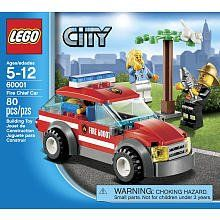 LEGO City Fire Chief Car 60001 by LEGO City