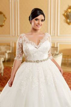 Aryanna Karen 2016 facebook.com/aryannakaren #aryannakaren20016 #bride #curvybride #plussize #ivorydress #weddingtime #weddingdresses #fashion #lace #bridalgowns #beauty #princessdress #embrodery #tulle #rochiemireasa #dantela #rochieprintesa #nunta #rochiedemireasa2016