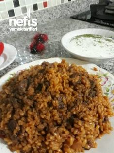 Food N, Food And Drink, Turkish Recipes, Ethnic Recipes, Fried Rice, Macaroni And Cheese, Fries, Deserts, Kitchen