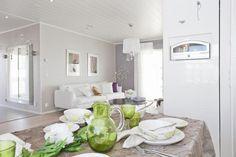 Keittiön kattaus   Asuntomessut. pentik päärynä