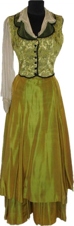 A Maureen O'Hara Period Costume from An Unknown Film