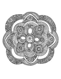 Flower Mandala Coloring Pages | Flower Mandala/ Dec 03 2012