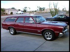 '65 Pontiac GTO custom wagon