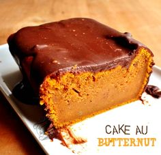 Cake au butternut - Banana Brownie Home Quinoa Lunch Recipes, Fall Recipes, Holiday Recipes, Banana Brownies, Cake & Co, Food Cakes, Love Food, Cheesecake, Brunch