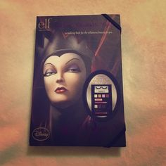 ELF Disney Evil Queen Beauty Book A gorgeous Disney Evil Queen beauty book that has everything a girl would need for a complete look, including lashes! These were impossible to find when they first came out but now is your chance to scoop it up. Never used, brand new in original packaging. ELF Makeup