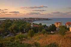 Twilight in Sozopol IV (At the Seaside Resort in Bulgaria, Europe)