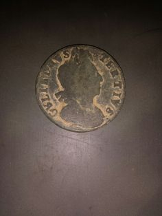 King William 3rd. A slick willy in other words. This is in great condition for a metal detecting find.