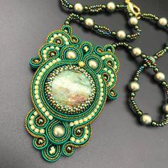 Soutache Pendant, Soutache Jewelry, Shibori, Macrame, Jewelery, Pendants, Beads, Diy, Accessories