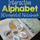 {Interactive Notebook} Students will practice identifying, sorting,writing both upper and lower case letters, and producing sounds in this fun, eng...