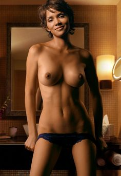 Halle Berry. I think she is the hottest, sexiest, most sensual woman in acting at the moment,