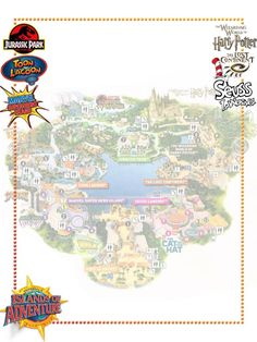Islands of Adventure - Project Life Journal Card - Scrapbooking ~~~~~~~~~ Size: @ 300 dpi. This card is **Personal use only - NOT for sale/resale** Logos/clipart belong to Universal/IOA. ***Click through to photobucket for more versions of this card!