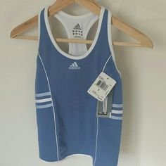 Adidas NWT Workout Top NWT Climacool Tennis Top Light Blue Adidas Tops Tank Tops