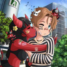 Anime Rapper, Rapper Art, Emo Anime Girl, Pretty Anime Girl, Dope Cartoon Art, Black Cartoon, Pastel Goth Art, Anime Faces Expressions, Fall In Luv