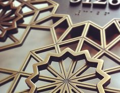 *This project was produced at HBA/Hirsch Bedner Associates.This sign is inspired by the interior details which are influenced by the hotel's destination. Arabic pattern is introduced into the signage system throughout the guest and public areas. This si…