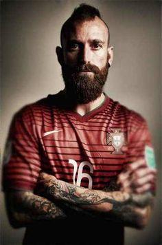 Raul Meireles - best beard in football!