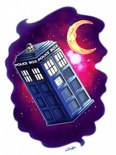 My Doctor Who tattoo is ready! :D Now I only have to find a shop and an artist!    Please don't steal my tattoo.