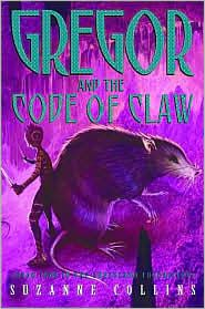 gregor the overlander series by the writer of The Hunger Games.  The last book in the series.