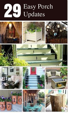 29 Easy Porch Updates