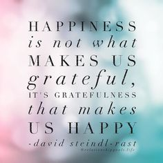 What are you grateful for?... Start your day by naming 3 things!