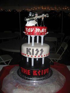 kiss band wedding cake | For your FH | Weddings, | Wedding Forums | WeddingWire