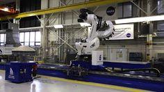 NASA Langley unveils robotic arm, ISAAC