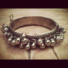 Vintage Kuchi Tribal Gypsy Bell Bracelet by nativerainbow on Etsy, $67.00