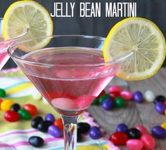 Jelly Bean Martini #Easter